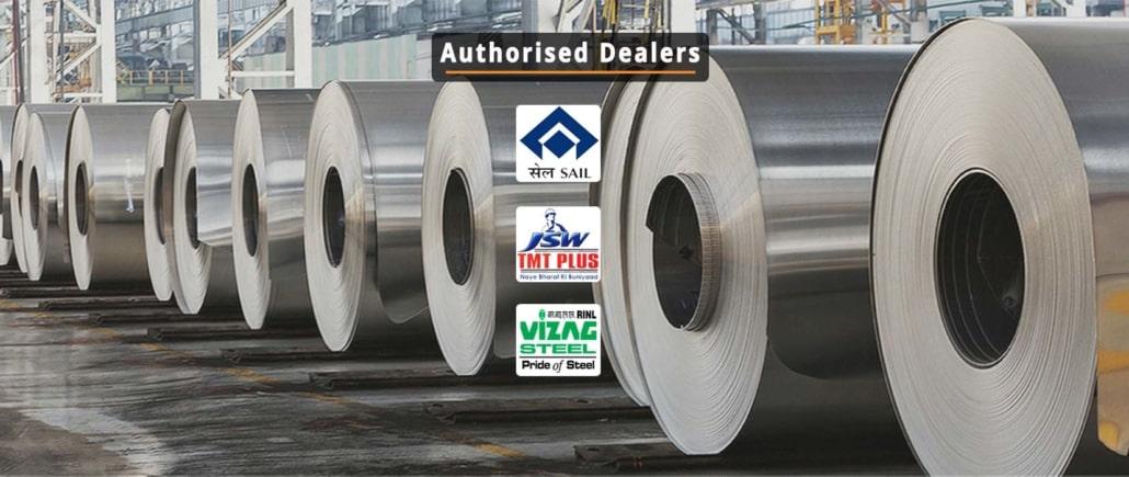 Authorized Supplier of JSW TMT, SAIL & Vizag dealer in Bangalore