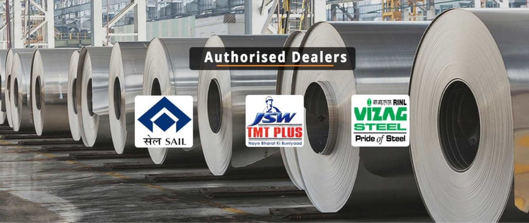 JSW, SAIL, Vizag Steel dealers in Bangalore