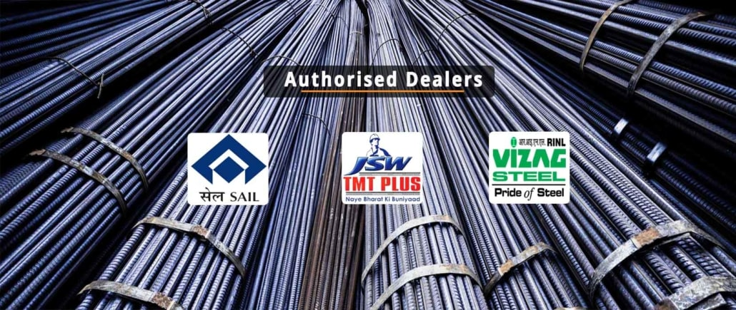 SAIL, TMT, Vizag Steel Suppliers in Bangalore